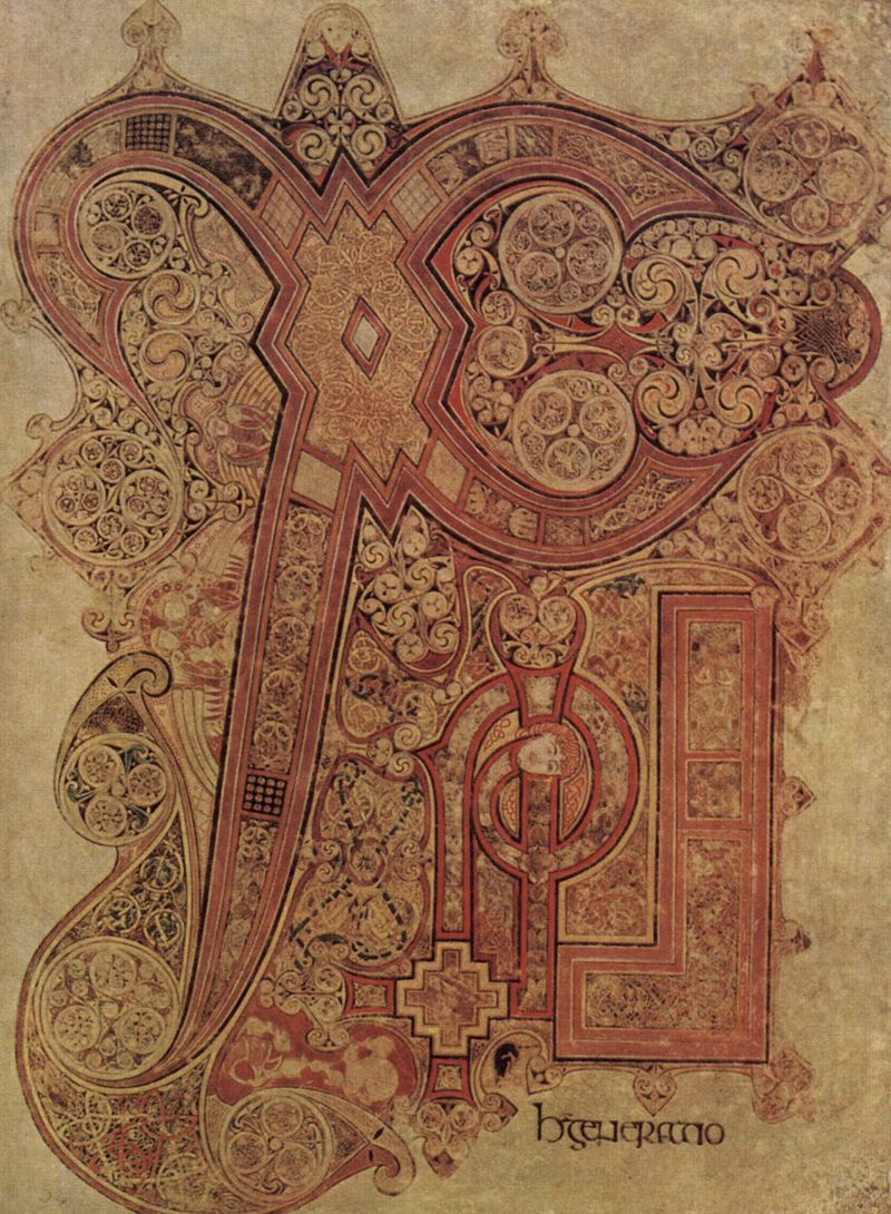 The Book Of Kells The Mother Of All Monograms