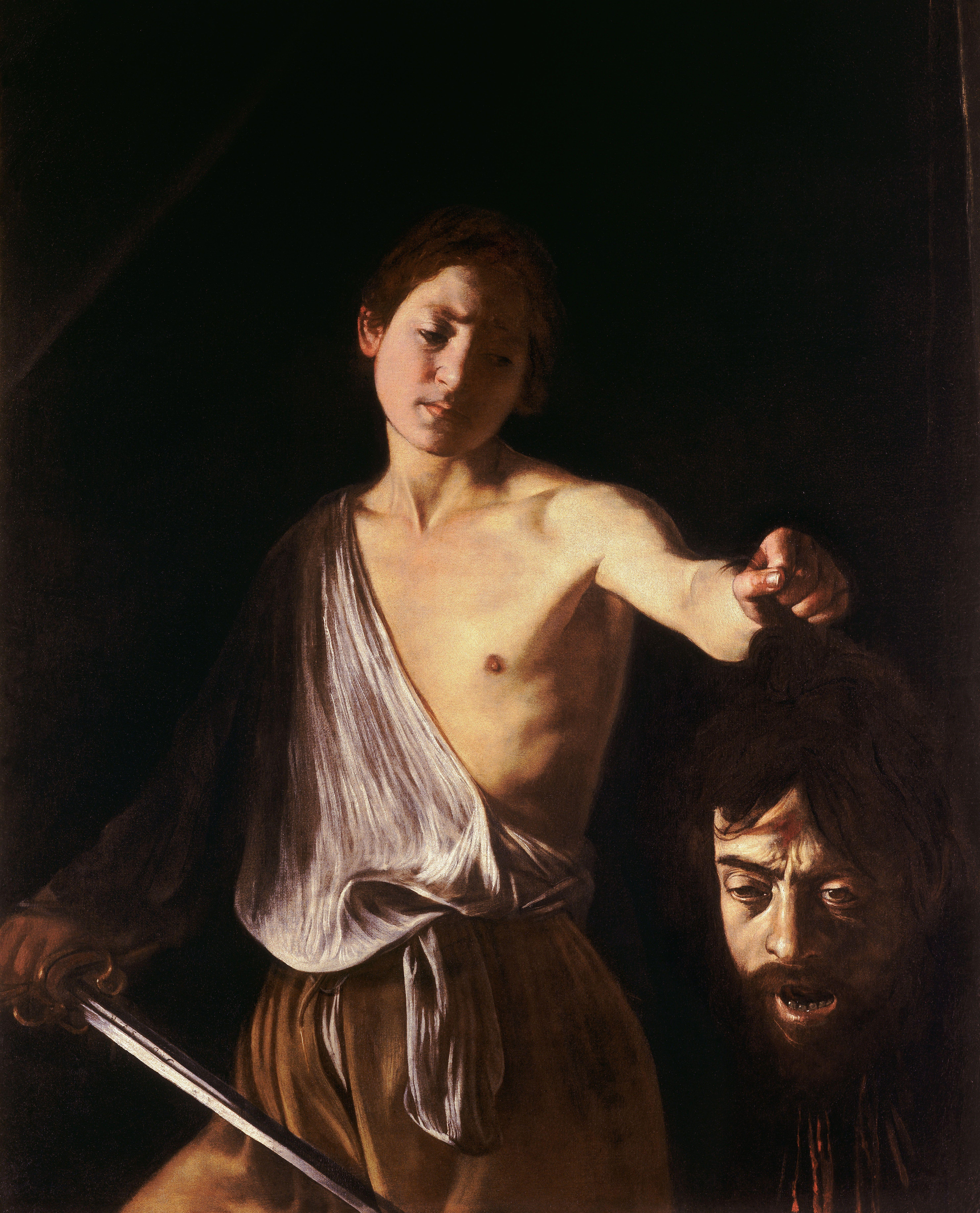David with the Head of David And Goliath Art Renaissance