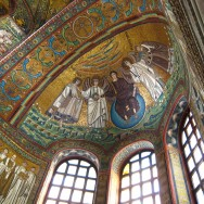 Interior of San Vitale, 526-547 CE, Ravenna, Italy, Photo by sjmcdonoughvia Flickr, Creative Commons Attribution-NonCommercial 2.0 ShareAlike License.