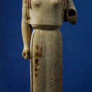 Peplos Kore, Ancient Art, Greek Art