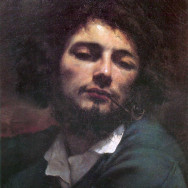 Gustave Courbet, Self-Portrait with Pipe,