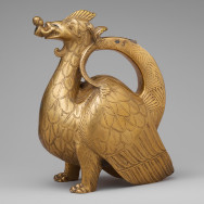 German Aquamanile in the Form of a Dragon, c. 1200, copper alloy, 8 3/8 x 4 3/8 x 7 3/16 in., The Cloisters Collection, The Metropolitan Museum of Art, New York, Photo via The Metropolitan Museum of Art.