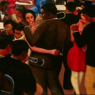 Archibald J. Motley Jr., 'Blues,' 1929, oil on canvas, 36 × 42 inches, Collection of Mara Motley M.D., and Valerie Gerrard Browne, Image courtesy of the Chicago History Museum, Chicago, Illinois. © Valerie Gerrard Browne.