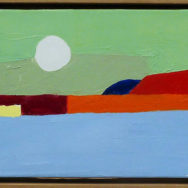 Etel Adnan, artist, Photo by P. K. via Flickr, Creative Commons Attribution 2.0 Generic License.