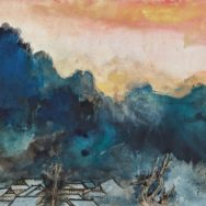 "Zhang Daqian (1899-1983), ALISHAN IN OBLIQUE SUNRISE, 1980, 24.25"" x 52.25"","
