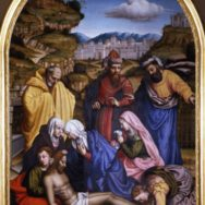 Suor Plautilla Nelli, The Lamentation, 1550, oil on canvas, Museum of San Marco, Florence, Public Domain via Wikimedia Commons.