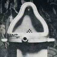 Alfred Stieglitz, Photograph of Marcel Duchamp's Fountain, 1917, Image in the Public Domain via Wikipedia.