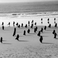 Sharin Neshat, Video still from Rapture, 1999, Photo via Gladstone Gallery, New York, NY.